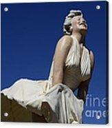 Marilyn Monroe Statue 3 Acrylic Print