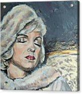 Marilyn Monroe - Unfinished Acrylic Print