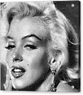 Beautiful Marilyn Monroe Unique Actress Acrylic Print