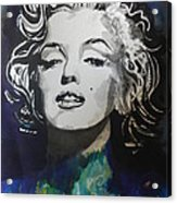 Marilyn Monroe..2 Acrylic Print by Chrisann Ellis