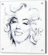 Marilyn 1 Acrylic Print