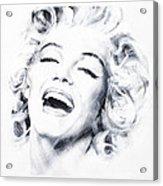 Marilyn 3 Acrylic Print