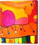 Marimba Acrylic Print by Jose jackson Guadamuz guadamuz