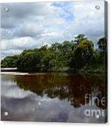 Marimbus River Brazil Reflections 4 Acrylic Print