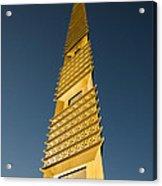 Marin County Civic Center Tower Acrylic Print by David Bearden