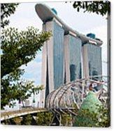 Marina Bay Sands Hotel 02 Acrylic Print