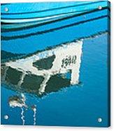 Marina Blues Acrylic Print