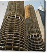 Marina City Chicago Acrylic Print
