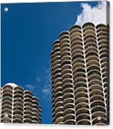Marina City Morning Acrylic Print