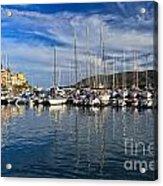 marina in Porto Azzurro Acrylic Print