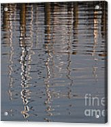 Marina Reflection 3 Acrylic Print