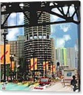 Marina Towers - Chicago Acrylic Print