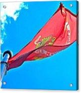 Marine Corps Flag Acrylic Print