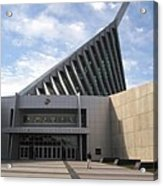 National Museum Of The Marine Corps In Triangle Virginia Acrylic Print