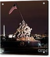 Marine Corps War Memorial Acrylic Print
