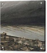 Marine Terrace In Jersey Acrylic Print by Victor Hugo