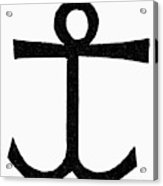 Mariner's Cross Acrylic Print