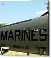 Marines Acrylic Print