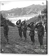 Marines Of The 5th Marine Regiment Acrylic Print