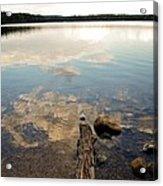 Marion Lake Reflections Acrylic Print