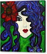 Mariposa Fairy Queen Acrylic Print