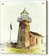 Mark Abbott Lighthouse Santa Cruz California Acrylic Print