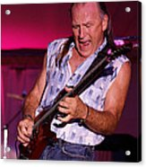 Mark Rocking In Lewiston 2009 Acrylic Print