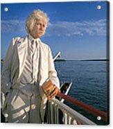 Mark Twain In Mississippi Acrylic Print