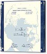 Mark Twain Patent Acrylic Print