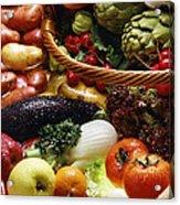 Market Basket Acrylic Print
