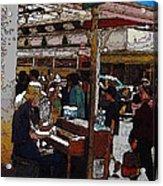 Market Busker 10 Acrylic Print