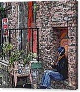 Market Busker 15 Acrylic Print