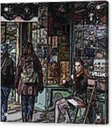 Market Busker 8 Acrylic Print