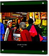Market Day In Chinatown  Acrylic Print