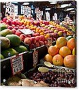 Market Fresh Acrylic Print