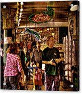 Market Fresh At Pike Place Market Acrylic Print