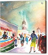 Market In Teguise In Lanzarote 06 Acrylic Print