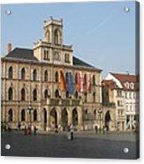 Market Place Weimar - Unesco Heritage Site Acrylic Print