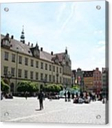 Market Place Wroclaw Acrylic Print