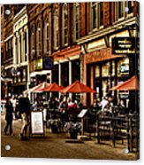 Market Square - Knoxville Tennessee Acrylic Print