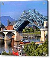 Market Street Bridge Rising Acrylic Print