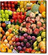 Market Time II Acrylic Print