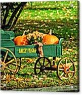 Market Wagon Acrylic Print