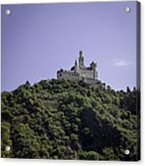Marksburg Castle 16 Squared Acrylic Print