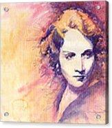 Marlen Dietrich 1 Acrylic Print