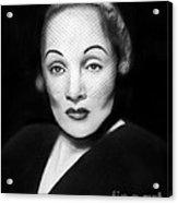 Marlene Dietrich Acrylic Print by Peter Piatt