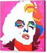 Marlyn Monroe Acrylic Print