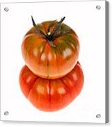 Marmande Tomatoes Acrylic Print by Jane Rix