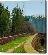 Marnel Medieval Bridge Acrylic Print