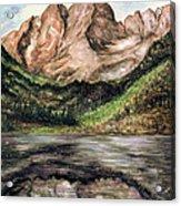 Maroon Bells Colorado - Landscape Acrylic Print